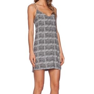 Bella Lux Los Angeles black and white dress XS